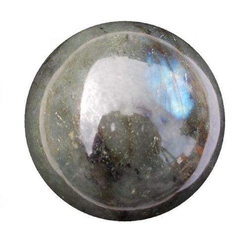 Labradorite Crystal Ball Scrying Divination Fortune Telling Sphere 58mm 280g LA15